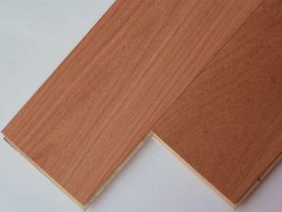 画像1: 本カリン複合フローリング 床暖対応 無塗装 900×120×13.8 (1.62m2)
