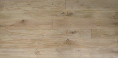 画像2: ヨーロピアンオーク幅広・無垢フローリング乱尺・無塗装Nグレード 乱尺×150×15