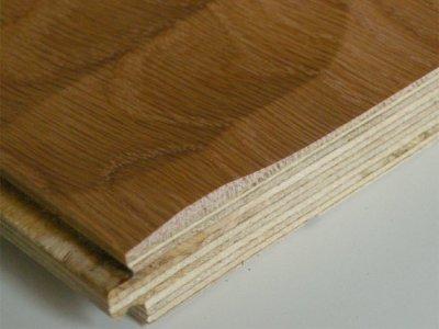 画像3: オーク複合フローリング スプーンカット 床暖房対応 オスモクリア 1818×150×15