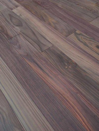 画像2: ローズウッド(シタン)無垢フローリング 乱尺・無塗装 乱尺×90×15