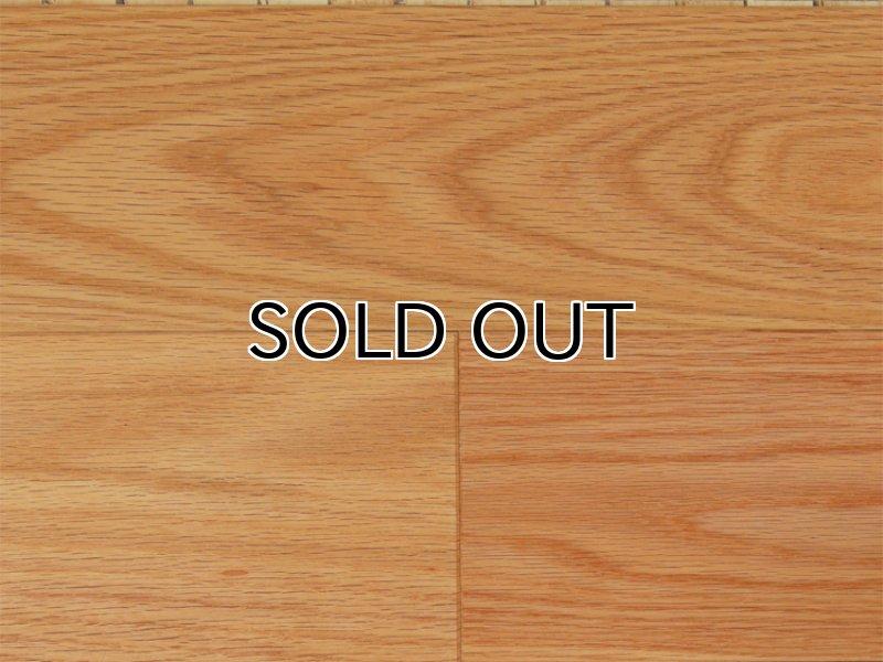 画像1: ジェンウッド 三層複合フローリング レッドオーク 自然塗料塗装 910×130×15 (1)