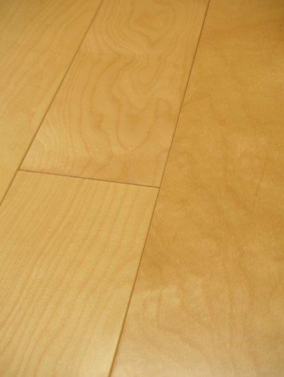 画像1: ワイドエコ三層複合フローリング カバ ウレタン塗装・床暖房対応 910×130×15