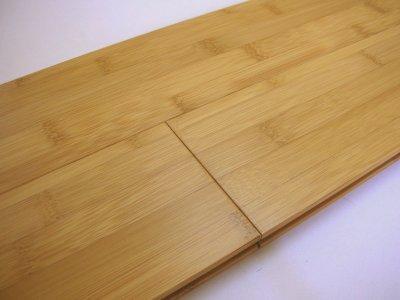 画像1: 竹 フローリング よこ ミディアム色ウレタン塗装 1820×90.9×15