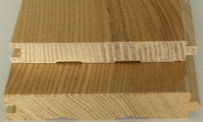 画像3: ホワイトアッシュ無垢フローリング12ミリ厚・UNI・Nグレード・ウレタン塗装1820×90×12