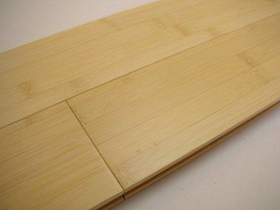 画像1: 竹フローリング ヨコ ナチュラル色 1820×90×15