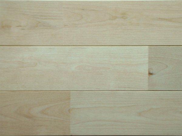 画像1: カエデカバ無垢フローリングUNI・無塗装1820×90×15 (1)