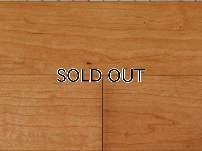 画像1: ジェンウッド 三層複合フローリング アメリカンブラックチェリー 自然塗料塗装・床暖房対応 910×130×15 (1)