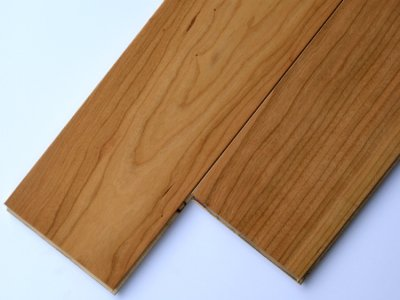画像1: 複合フローリング ExEfloor アメリカンブラックチェリー ウレタン塗装・床暖房対応 909×120×12
