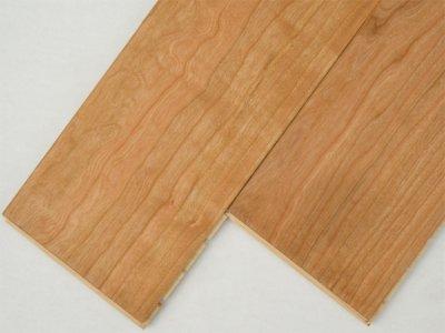 画像1: ジェンウッド 三層複合フローリング アメリカンブラックチェリー 自然塗料塗装・床暖房対応 910×130×15