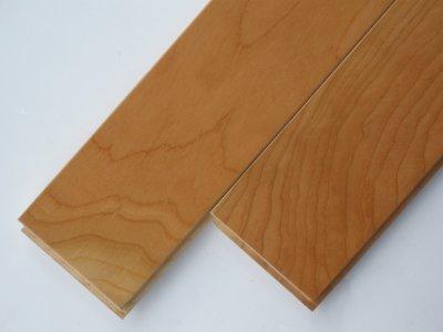 画像1: アメリカンブラックチェリー無垢フローリング床暖房用UNI・ウレタン塗装1818×75×15