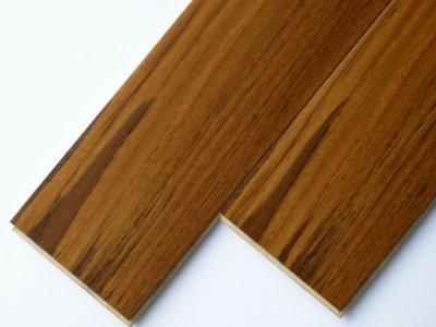 画像1: 複合フローリング ExEfloor ミャンマーチーク ウレタン塗装・床暖房対応 909×120×12