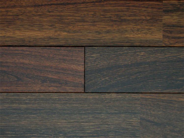 画像1: アジアンウォールナット無垢フローリングOPC・自然塗料塗装 1820×90×15 (1)