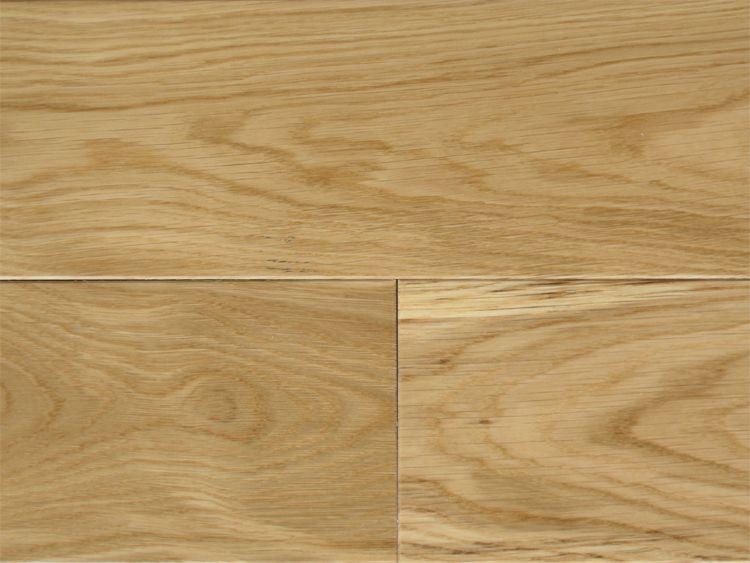 画像1: ホワイトオーク三層フローリング ナチュラルグレード 床暖房対応 ウレタン・クリア塗装 1818(MIX)×138×14 (1)