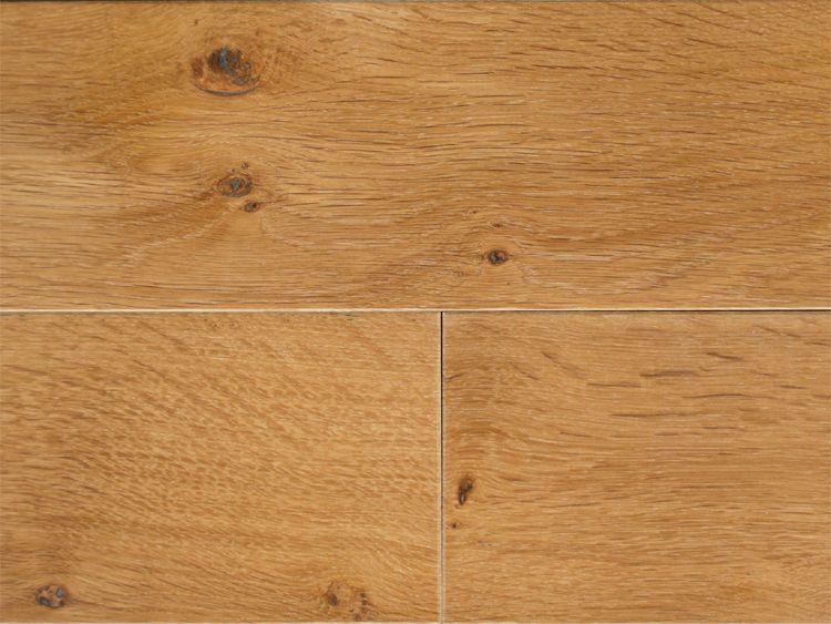 画像1: ホワイトオーク三層フローリング ナチュラルグレード 床暖房対応 自然塗料塗装 1818(MIX)×138×14 (1)