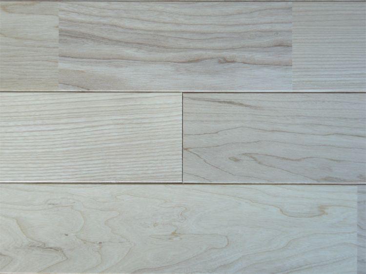画像1: ホワイトアッシュ無垢フローリングUNI・Sグレード無塗装1820×90×15 (1)