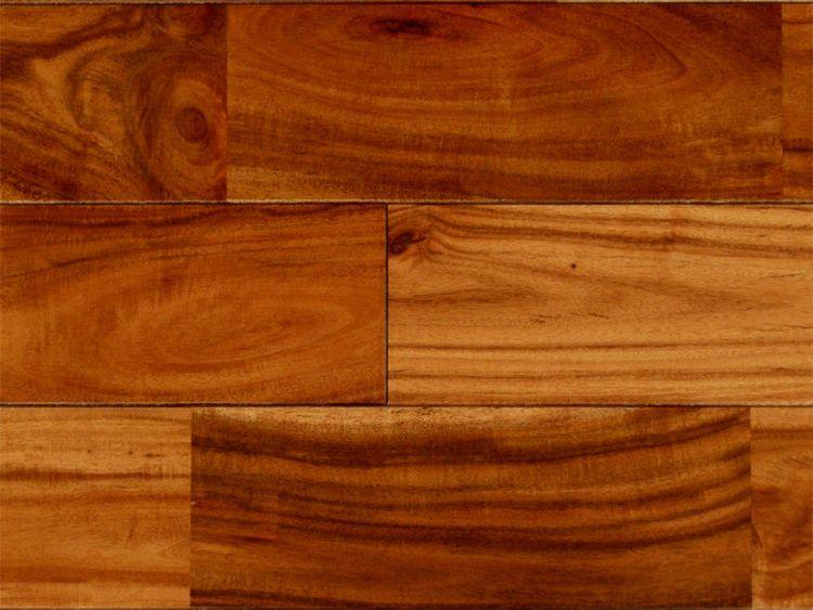 画像1: アカシア無垢フローリングUNI・ウレタン塗装 TE色 1820×90×15 (1)