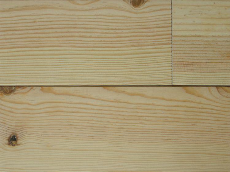 画像1: マリティムパイン無垢フローリング1P(OPC)・無塗装フラット2000×120×15 (1)
