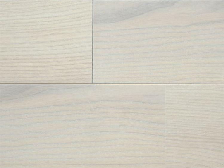 画像1: ホワイトアッシュ幅広無垢フローリングUNI・Sグレードホワイトオイル塗装 1820×130×15 (1)