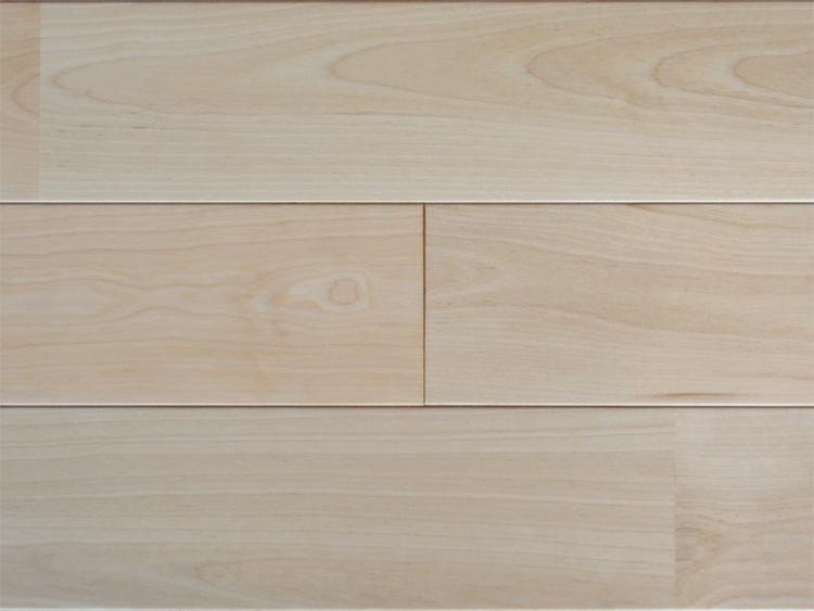 画像1: カエデカバ無垢フローリングUNI・ウレタン塗装1820×90×15 (1)