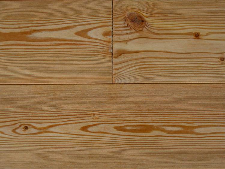 画像1: カラマツ無垢フローリングOPC・節有・自然塗料塗装1820×135×15 (1)