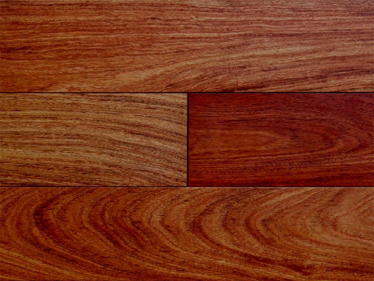 画像1: カリン無垢フローリングUNI・自然塗料塗装1820×90×15 (1)