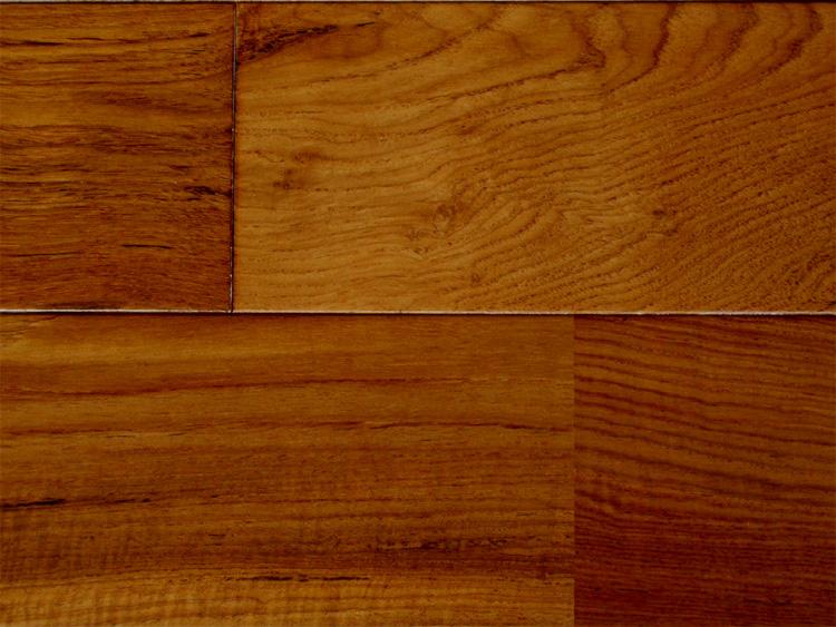 画像1: ミャンマーチーク幅広無垢フローリングUNI・ウレタン塗装1820×120×15 (1)