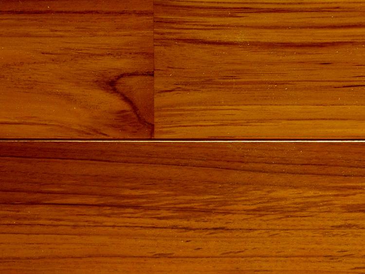 画像1: チーク無垢フローリング床暖房用UNI・ウレタン塗装1818×75×15 (1)