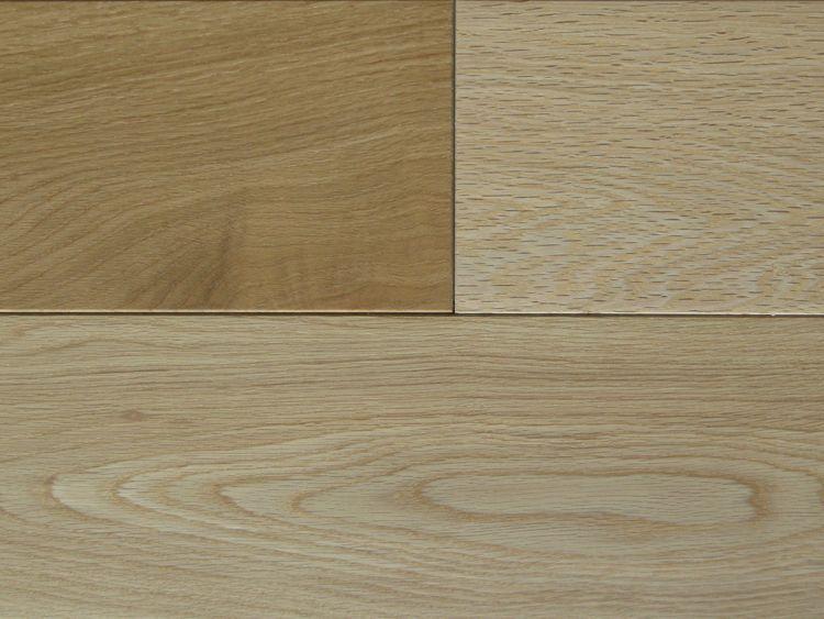 画像1: ナラ三層フローリングSグレード 低温床暖房対応 自然塗料塗装1818×150×15 (1)