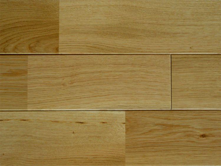 画像1: ナラ無垢フローリング床暖房用UNI・Sグレード・ウレタン塗装1818×90×15 (1)