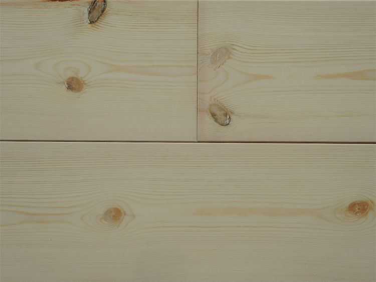 画像1: レッドパイン 無垢フローリング1P(OPC)無塗装1820×135×15 (1)