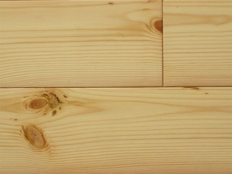 画像1: レッドパイン 無垢フローリング1P(OPC)床暖房用・自然塗料塗装1818×110×15 (1)