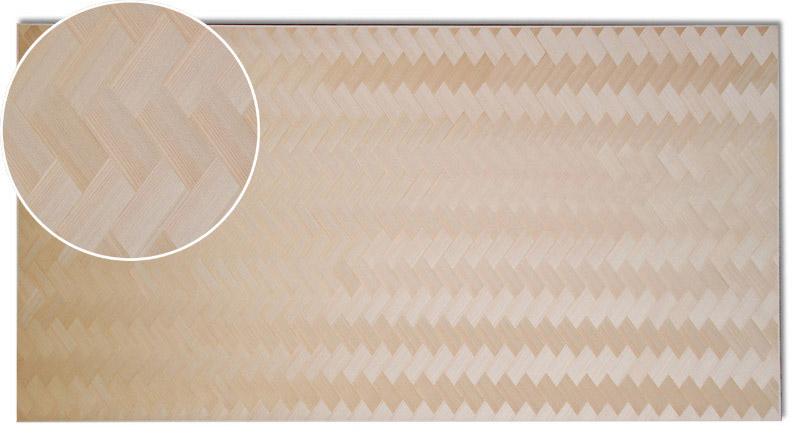 画像1: 秋田杉矢羽根網代(赤・厚)1910×960×2.4(0.6) (1)