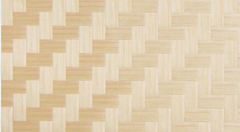 画像1: 秋田杉石畳網代(赤)1820×910×2.4(0.3) (1)