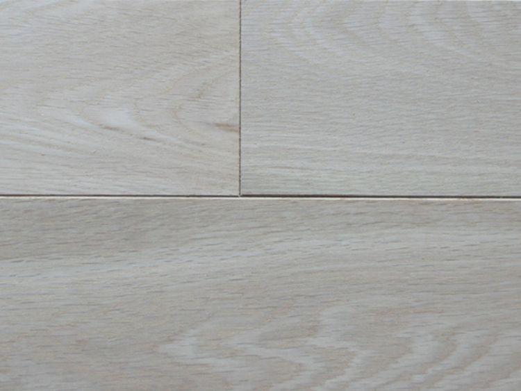 画像1: ナラ幅広無垢フローリングOPC・無塗装1820×120×15 (1)