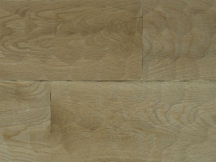 画像1: ナラ幅広無垢フローリングUNI・Sグレード 名栗加工 無塗装 1820×120×15 (1)