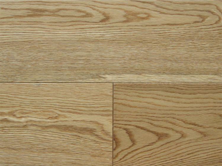 画像1: ナラ三層 フローリング ウレタンナチュラル・ブラッシング 低温床暖房対応 ウレタン塗装 1820(MIX)×150×15 (1)