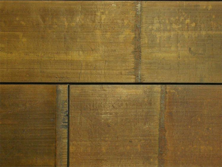 画像1: アンティークバンブー・フローリングOPC ウレタン塗装ブラック 1210×125×18 (1)