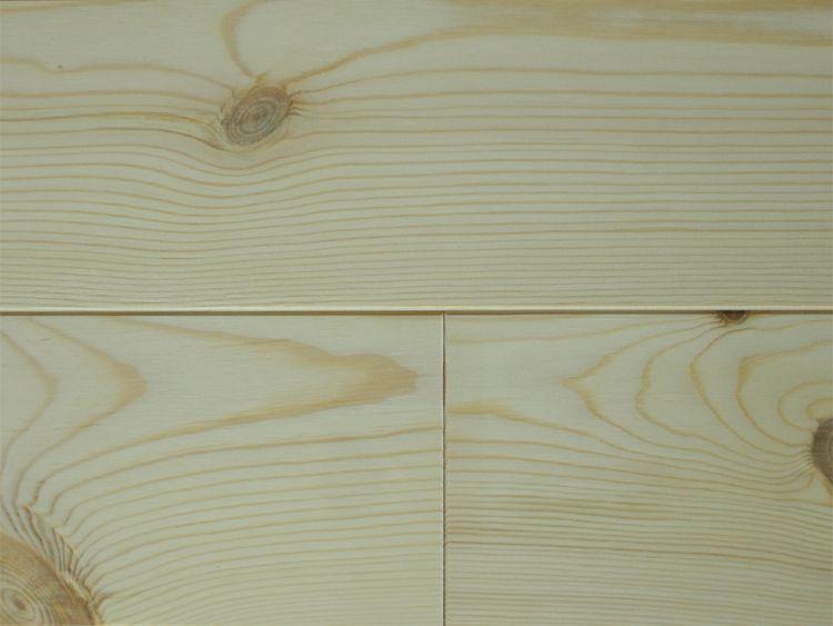 画像1: レッドパイン 無垢フローリング1P(OPC)床暖房用・無塗装1818×110×15 (1)
