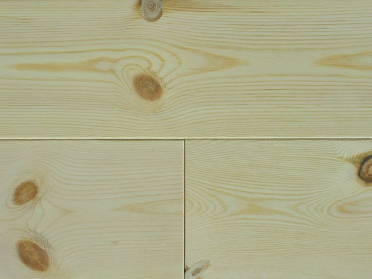 画像1: レッドパイン 無垢フローリング1P(OPC)無塗装1820×111×15 (1)