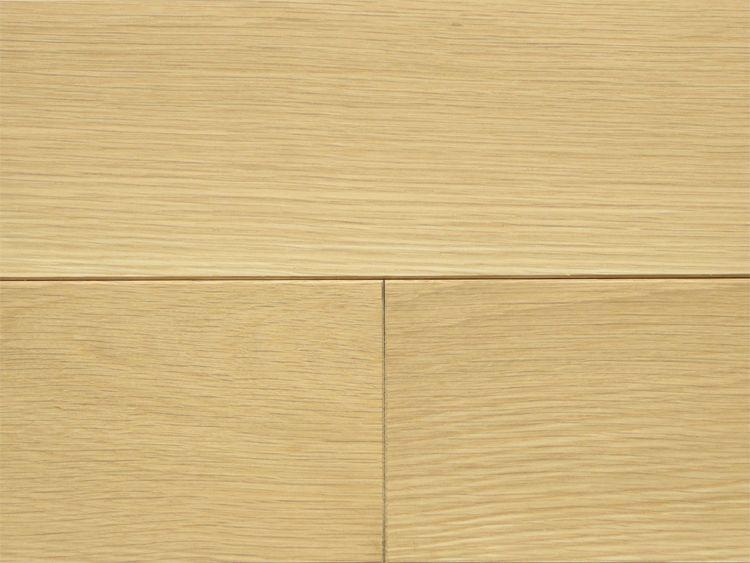 画像1: ホワイトオーク無垢フローリング12ミリ厚・幅広・無塗装 乱尺×120×12 (1)