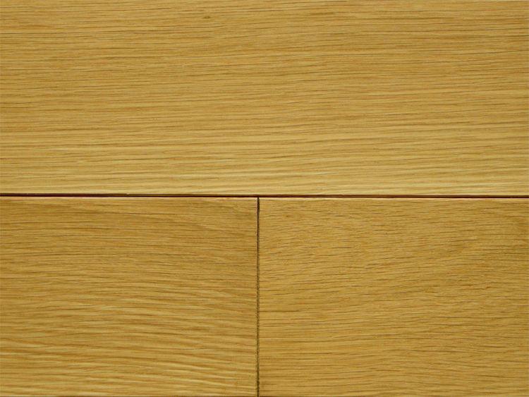 画像1: ホワイトオーク無垢フローリング12ミリ厚・幅広・自然塗料塗装・ 乱尺×120×12 (1)