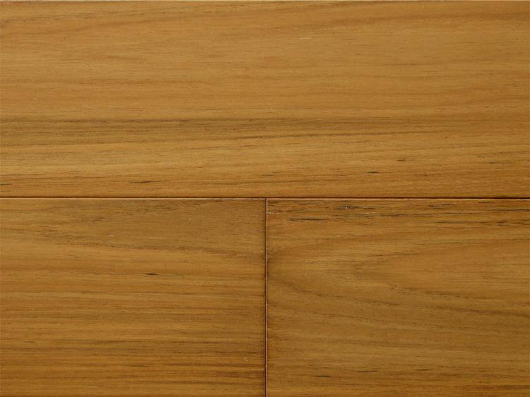 画像1: 複合フローリング ExEfloor ミャンマーチーク 自然塗料塗装・床暖房対応 1818×145×15 (1)