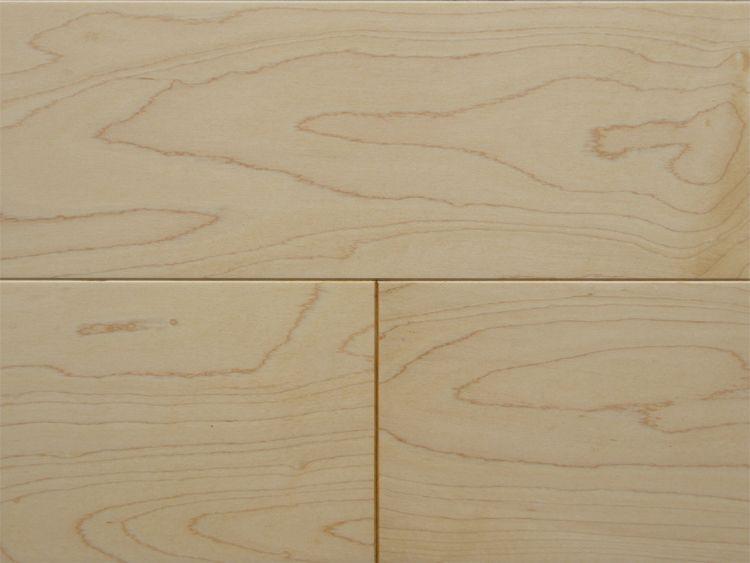 画像1: ハードメープル三層フローリングSグレード 低温床暖対応 自然塗料塗装 1818×150×15 (1)