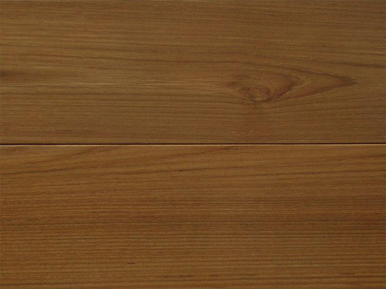 画像1: ミャンマーチーク三層フローリング 自然塗料塗装・低温床暖房対応 1820×150×15 (1)