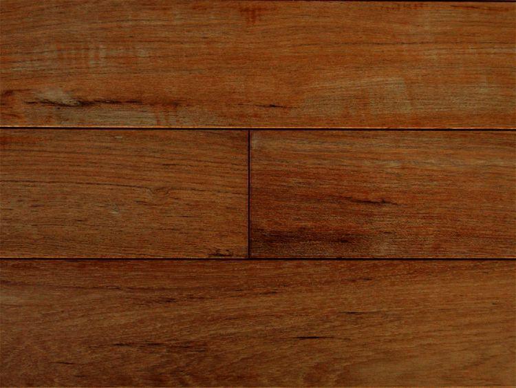画像1: ミャンマーチーク無垢フローリングOPC・自然塗料塗装1820×90×15 (1)