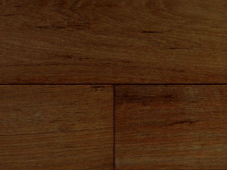 画像1: ミャンマーチーク無垢フローリングOPC・自然塗料塗装1820×120×15 (1)