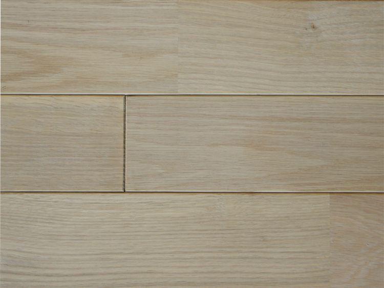 画像1: ホワイトオーク無垢フローリングUNI・無塗装1820×90×15 (1)