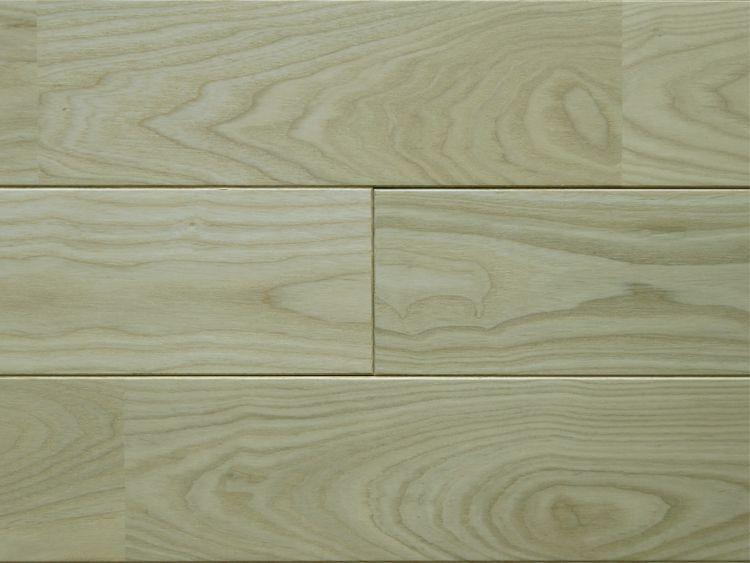 画像1: タモ無垢フローリングUNI・無塗装1820×90×15 (1)