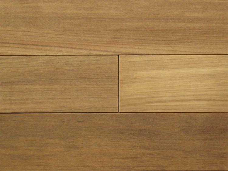 画像1: ミャンマーチーク無垢フローリングOPC・無塗装1820×90×15 (1)