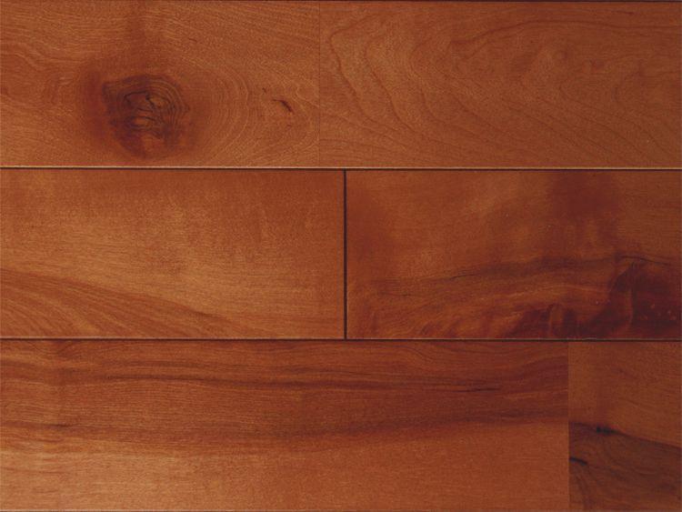 画像1: 西南桜無垢フローリングUNI・【節有】チーク色 1820×90×15 (1)